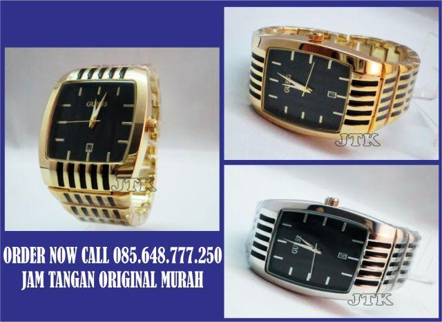 jam tangan original murah guess sell stainless