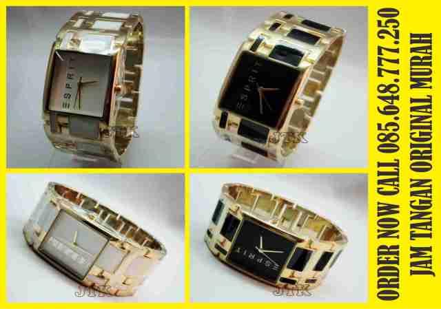 jam tangan original murah espirit lady stainlesss
